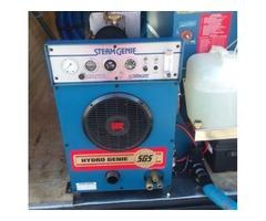 Steam genie sizzler and trailer