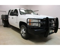 2009 Chevy 3500 4wd Diesel Automatic Crew Cab Flatbed