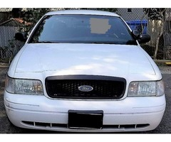 2008 Ford Crown Victoria Police Sedan