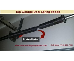 For Emergency Garage Door Spring Repair Service Missouri City