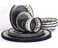 Hand Painted Stoneware Designer Dinnerware