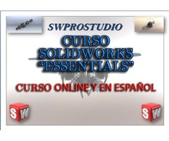 CURSO SOLIDWROKS ESSENTIALS 2018 EN ESPAÑOL ONLINE