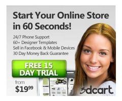3d cart free trial