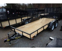 2017 Big Tex Tandem Axle Utility Trailer 6'6x16'