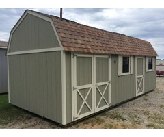 12x24 Custom Lofted Shed $243/mo - NO CREDIT CHECK & FREE DELIVERY | free-classifieds-usa.com