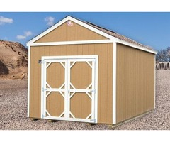 Cook 10x16 Lofted Utility Shed $143/mo - FREE DELIVERY & No Credit Check
