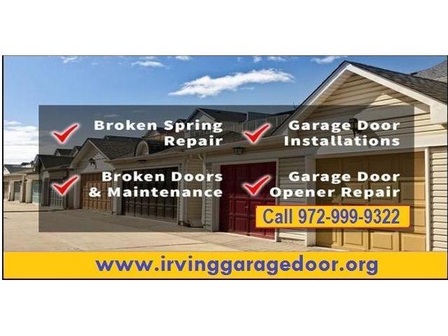 Commercial Garage Door Opener Repair Service In Irving Tx