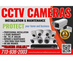 Security Cameras in the Houston area!