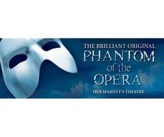 Phantom of the Opera Show Tickets 2018 - Tixbag