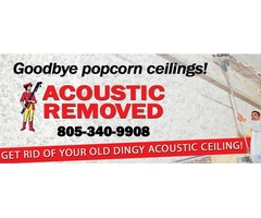 Acoustic Ceiling Removal Camarillo