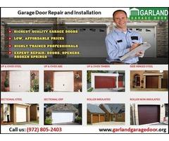 Emergency New Garage Door Installation company | Garland, TX