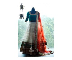 Latest Designer Bridal Lehenga Choli Collections Online at Varuna Jithesh