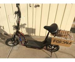Electric scooter, ezip 750, 24 volt