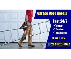 24/7 & Same-day Service for Garage Door Repair and Installation in Sugar Land