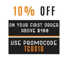 10% off on your first order of dental products above $100