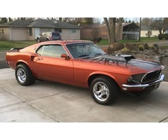 1969 Ford Mustang Fastback 429 - Classic Cars - Tangent ...