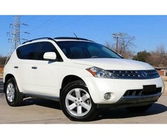 2007 Nissan Murano SL White on Tan Leather