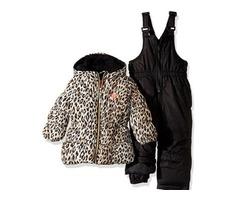Brand new girl's 12 mo Snow jacket & bibs