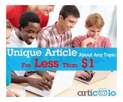 Articoolo – unique content in a flash