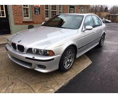 2002 BMW M5 Base Sedan 4-Door