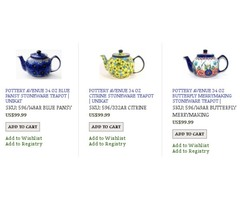 Shop For Stylish Polish Stoneware Teapot