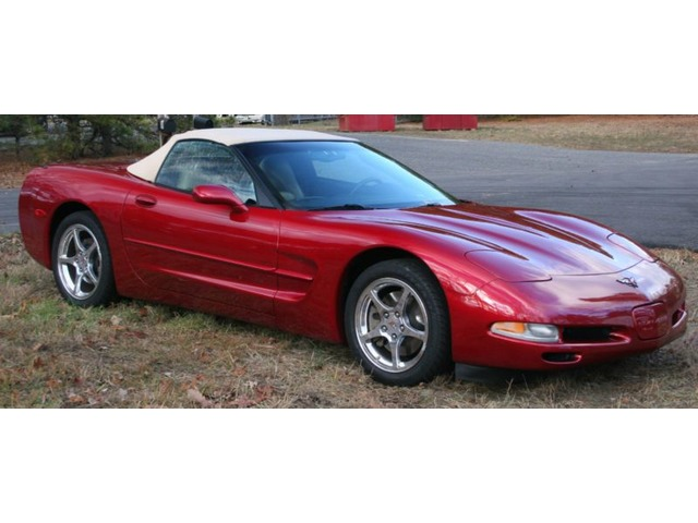 2004 Chevrolet Corvette Base Convertible 2 Door Sports Cars