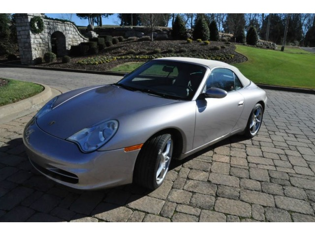 2002 Porsche 911 Carrera 4 Convertible 2 Door Sports