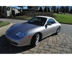 2002 Porsche 911 Carrera 4 Convertible 2-Door