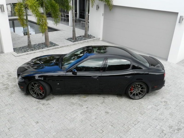 2007 Maserati Quattroporte Sport GT Sedan 4-Door - Cars ...