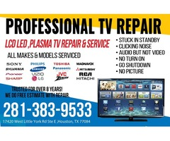 TV repair service in Katy & Houston