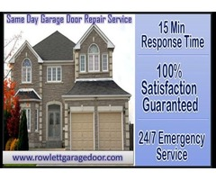 Trusted Garage Door Repair and Service Company in Rowlett, TX