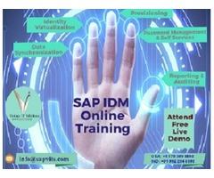 SAP IDM Online Training USA