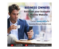 Increase your Online Visibility with Mobile Website