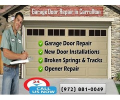 Commercial Garage Door Installation and Service Company in Carrollton