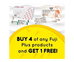 Buy 4 of any Fuji Plus products and get 1 FREE of the same