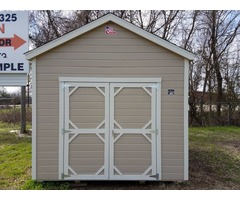 10x12 Utility Shed With LP Smartside Lap Siding