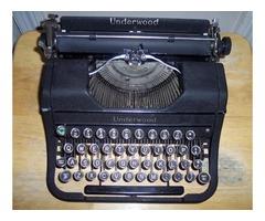 Antique and Vintage Typewriter Restoration