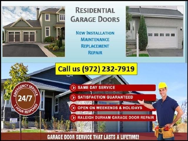 Find The Best Garage Door Opener Repair Services In Richardson Tx