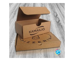 Packaging boxes on Cardboard, Kraft and Corrugated Packaging Stock