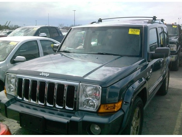 06 Jeep Commander #3195 3rd Row