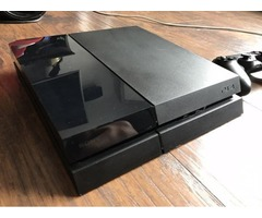 Black Play station 4 Sim