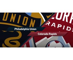 Colorado Rapids vs Philadelphia Union -   tixtm.com