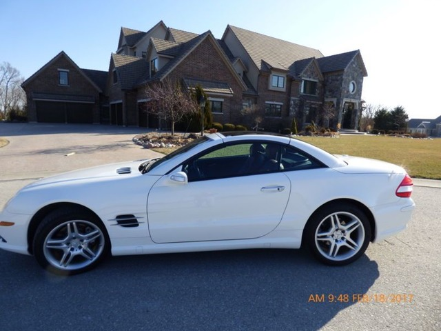 2008 Mercedes Benz Sl Cl Amg Sport Package