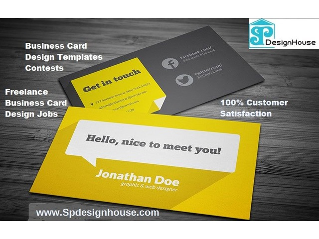 freelance business card designers online - Freelance Business Cards