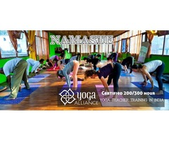 Find the best School of Yoga Teacher Training in Rishikesh, India