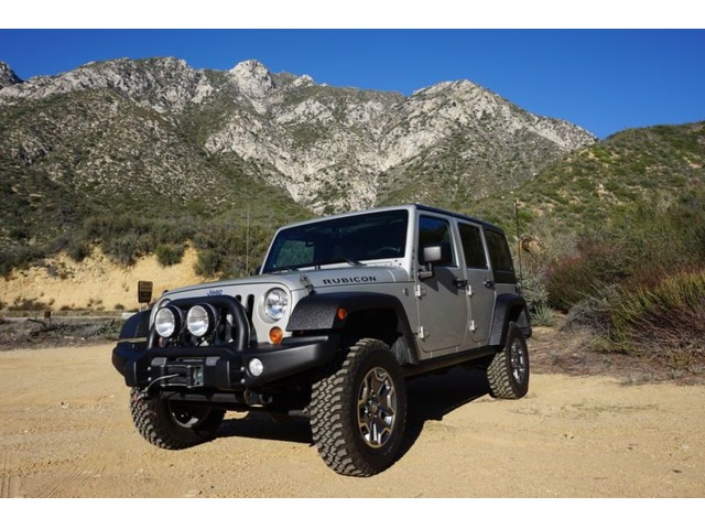 2007 Jeep Wrangler Unlimited Rubicon Sport Utility 4 Door