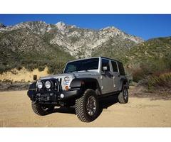 2007 Jeep Wrangler Unlimited Rubicon Sport Utility 4-Door