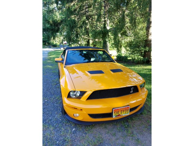 2008 Ford Mustang Shelby Gt500 Convertible 2 Door Sports Cars