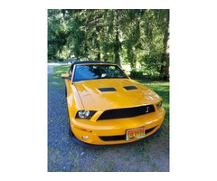 2008 Ford Mustang Shelby GT500 Convertible 2-Door