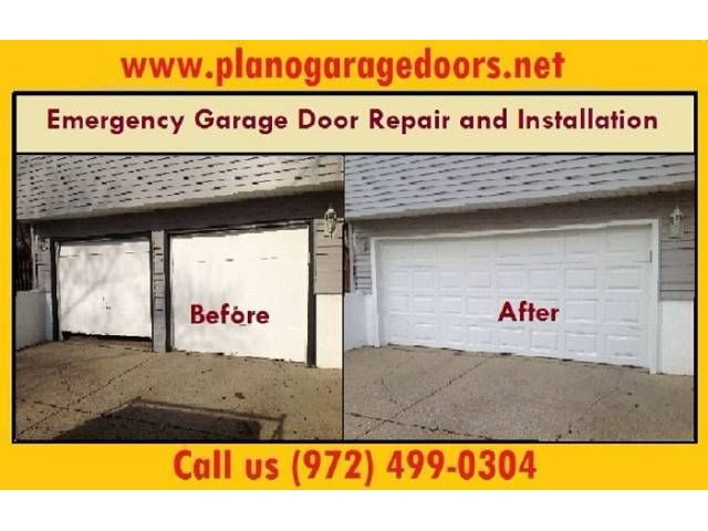 24 7 garage door spring repair 972 499 0304 plano tx for Garage door repair plano
